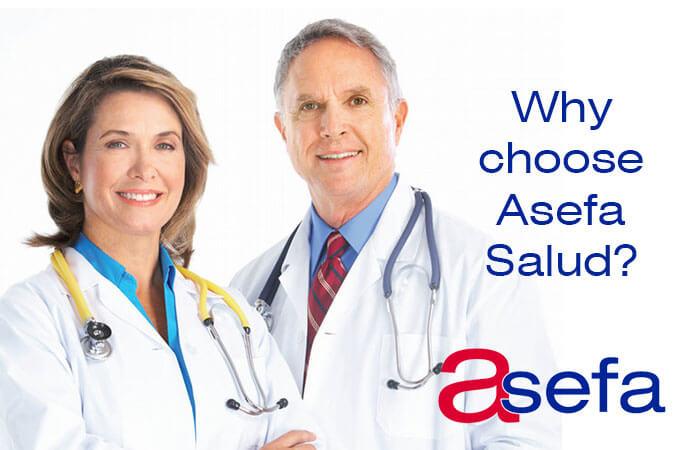 Why choose Asefa Salud?